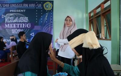 Pasca PTS Ganjil, Osis SMA Unggulan Haf-Sa Gelar Class Meeting.