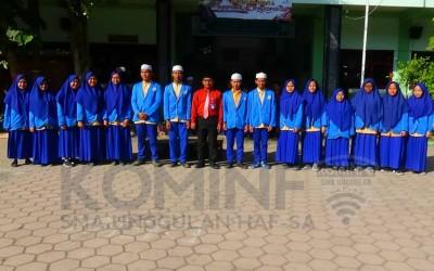 Osis SMAU Periode 2019-2020 dilantik, Ini Pesan Pembina Osis