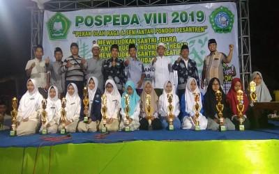 Santri SMAU Haf-Sa Borong Lima Juara Pospeda Probolinggo