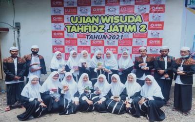 19 Santri SMA Unggulan Haf-Sa Ikuti Wisuda Tahfidz Jatim